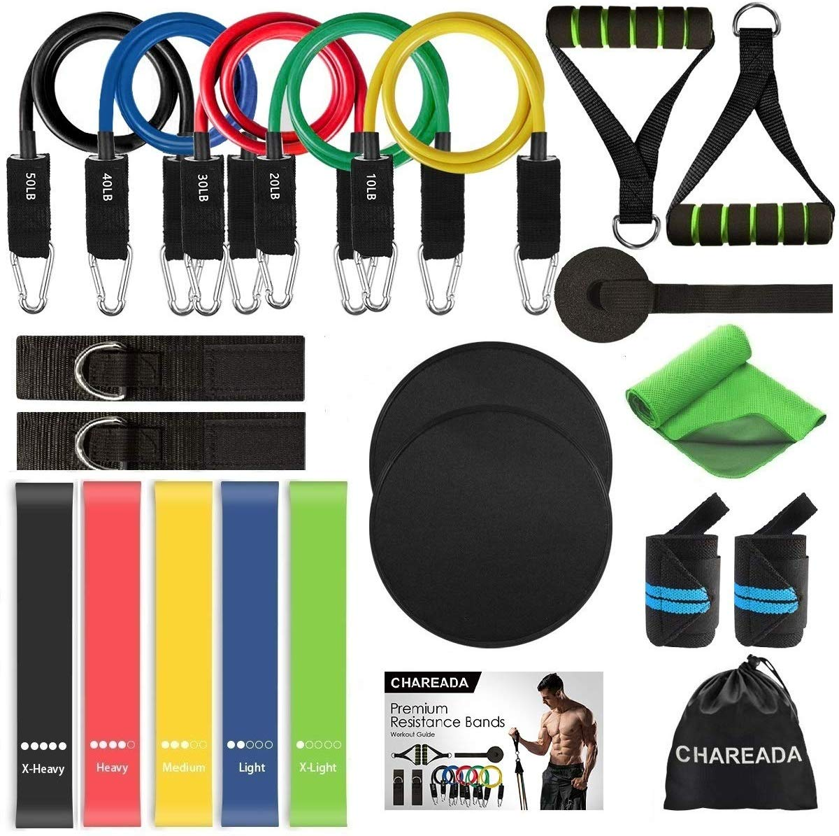 Exercise Equipment 22 Pack