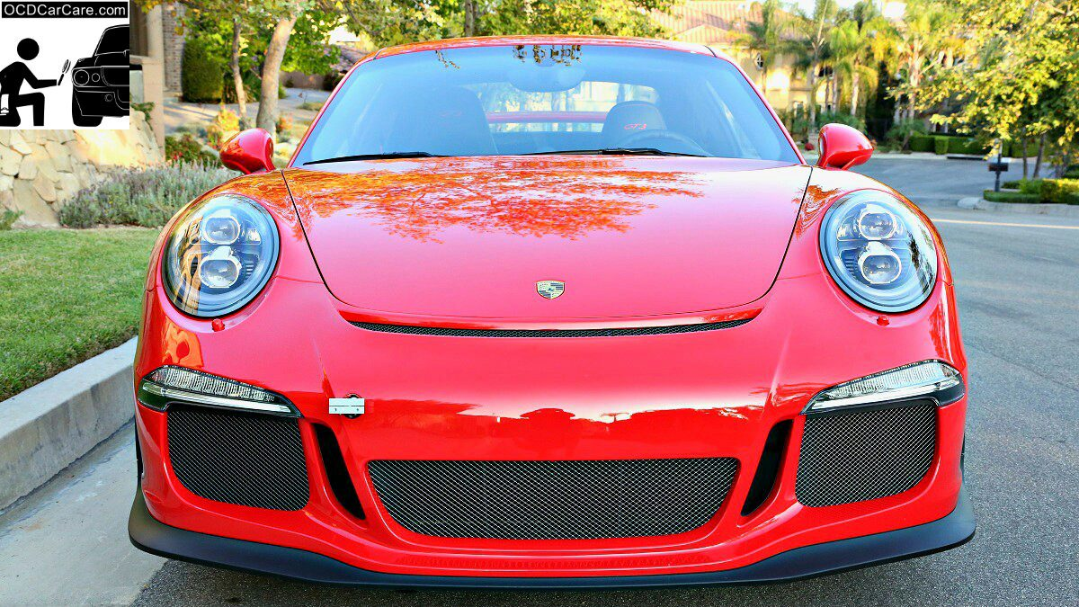 OCDCarCare, Los Angeles, helped to make this Porsche 911 GT3 Beauty & The Beast all in one with a Ceramic Nano Coating