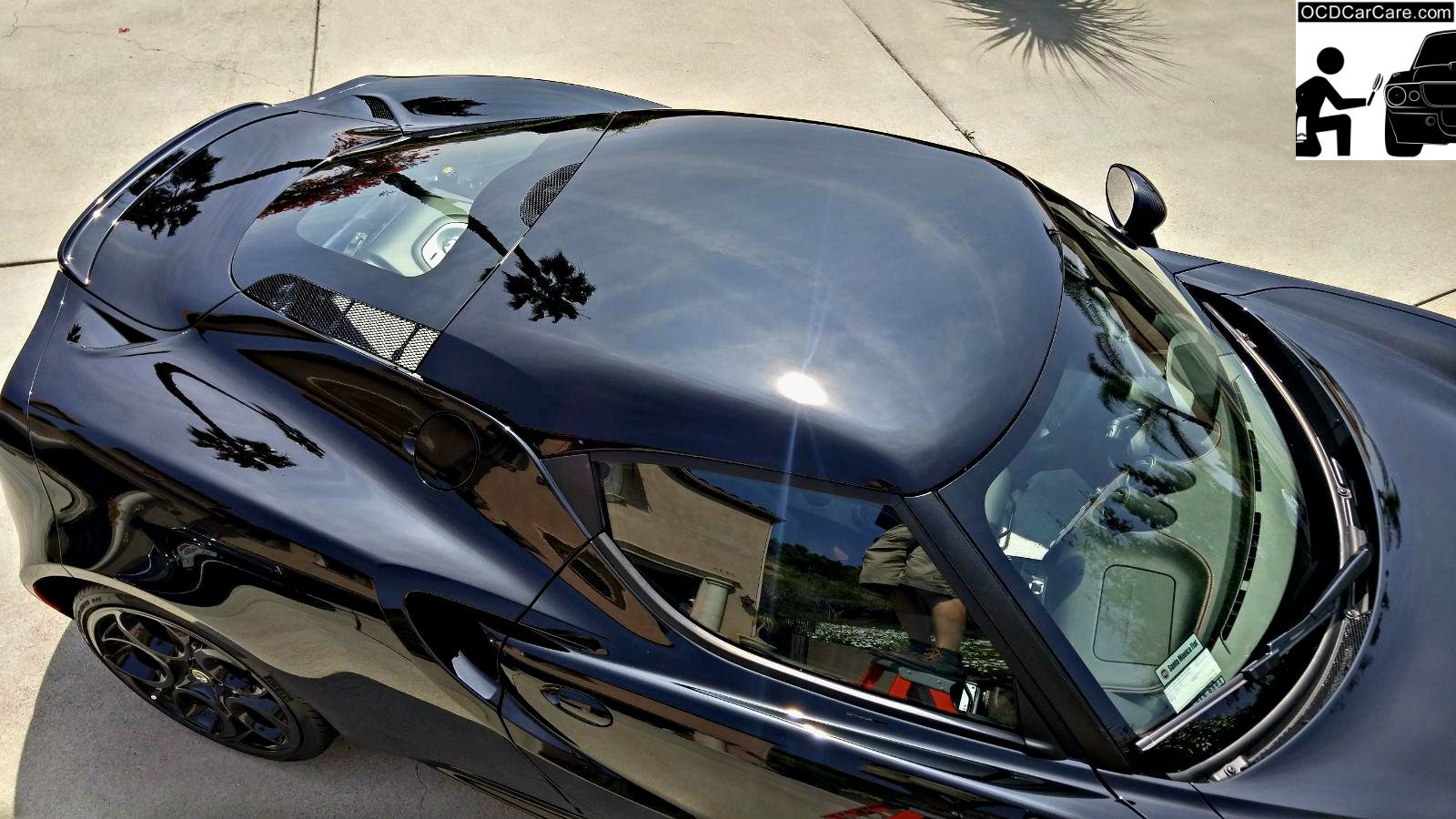 Gloss is the hallmark of a refined surface due to paint polishing by OCDCarCare Los Angeles.
