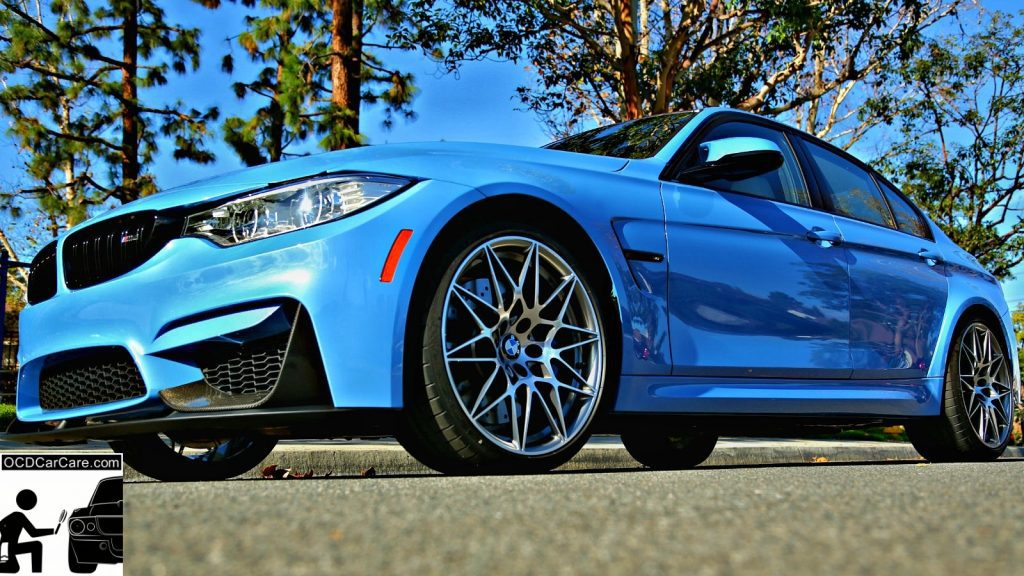 This Yas Marina BMW M3 is ready to take the streets of Rolling Hills after paint restoration & ceramic nano coating detail by OCDCarCare Los Angeles
