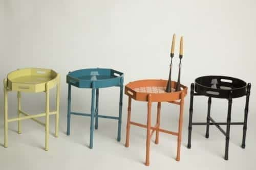 Lauren Lacquer Tray Table