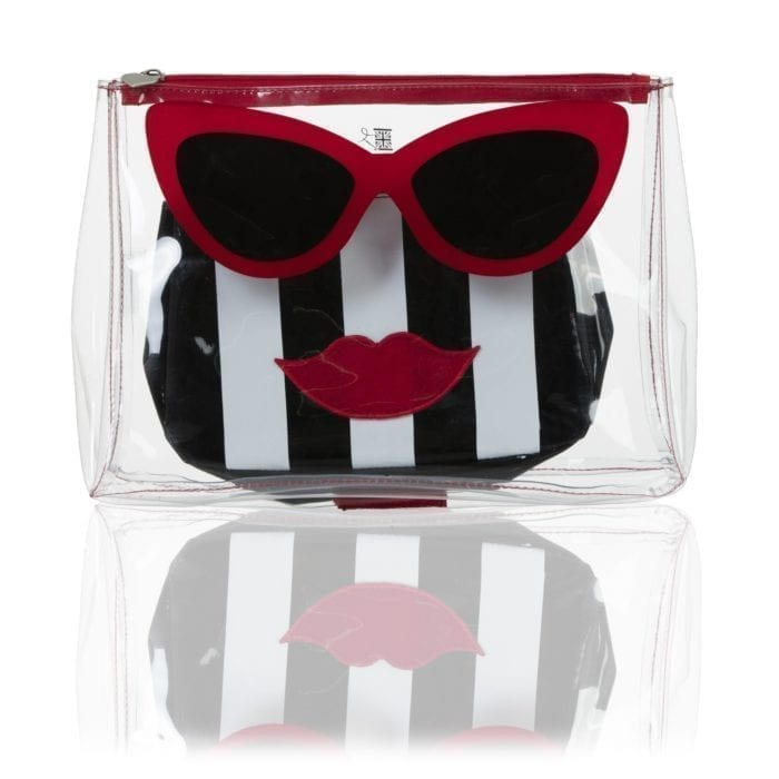 the Marilyn Travel and Makeup Bag