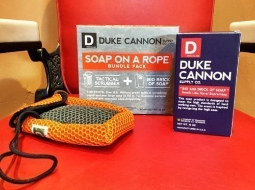 Duke's Soap on a Rope
